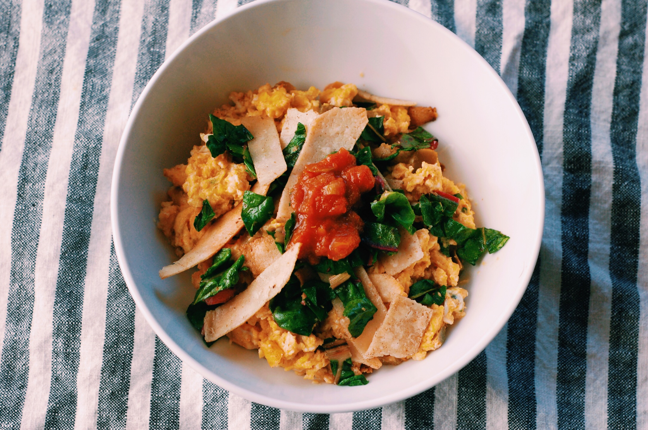 Grain-Free Chilequiles