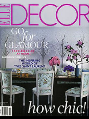 Elle Decor — Oct 2008