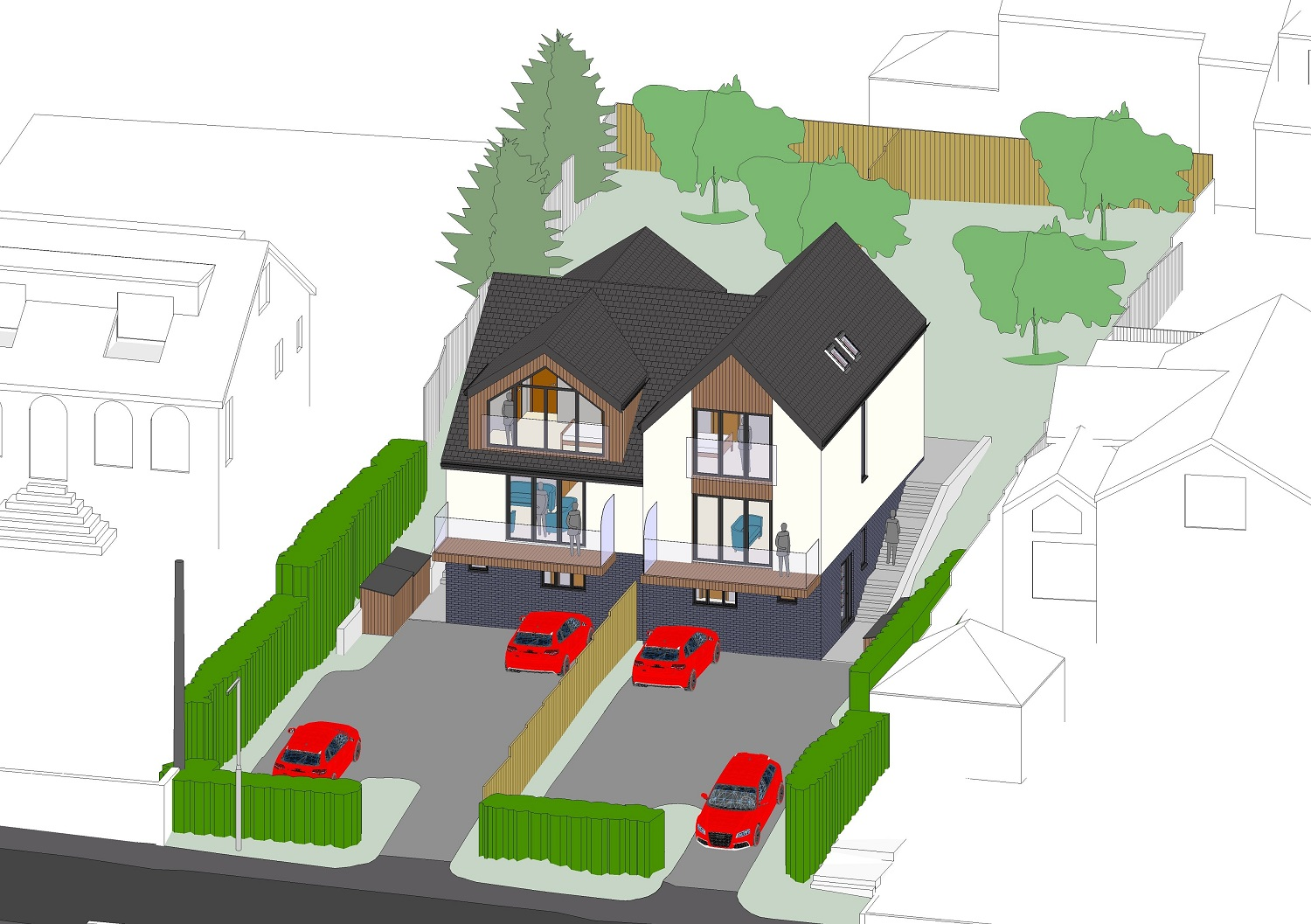 2 NEW PREMIUM HOMES WITH STUNNING VIEWS - Portishead, Hillcrest Road