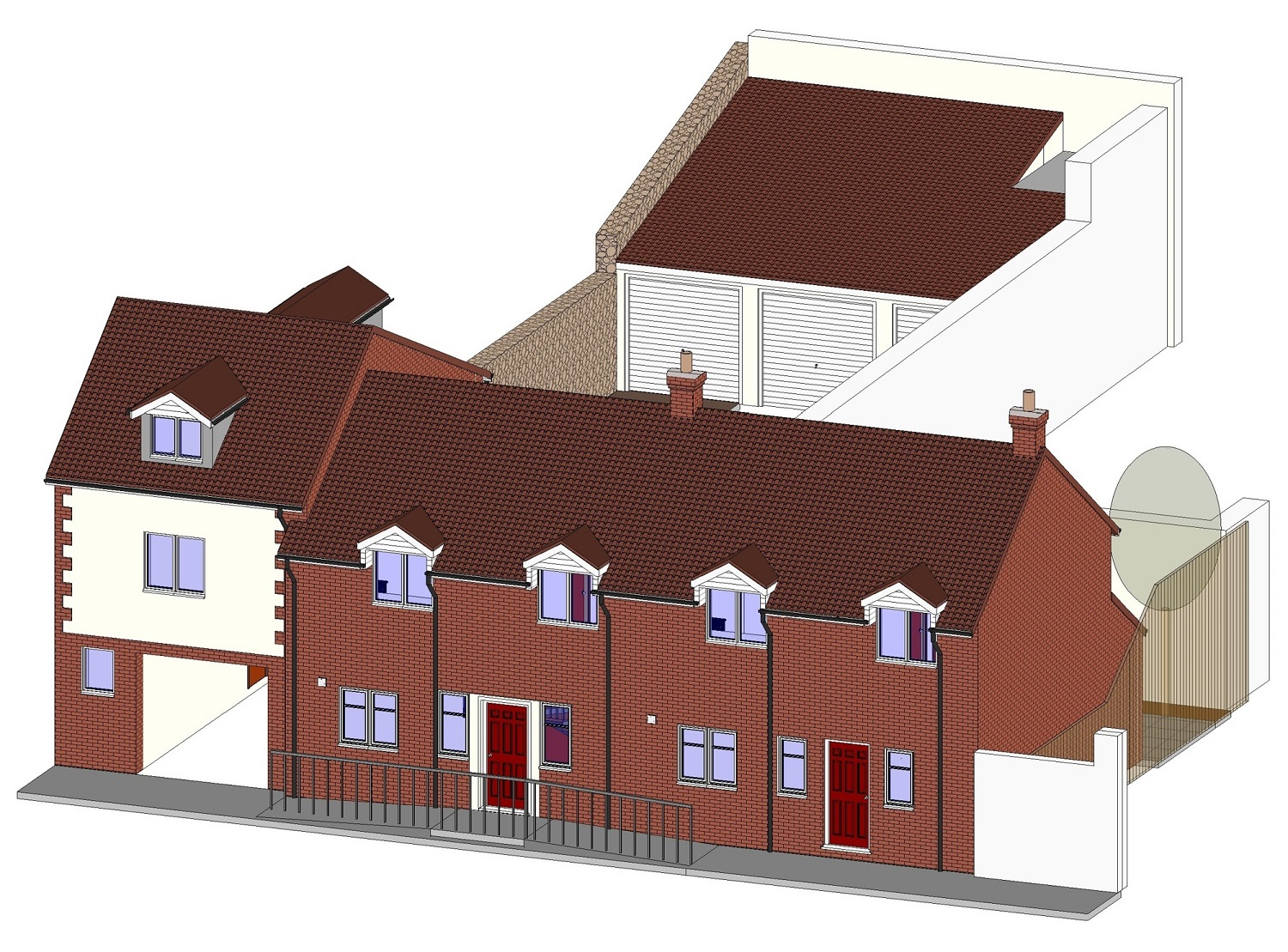 2 NEW HOUSES IN CONVERTED GP SURGERY - Hotwells, Charles Place