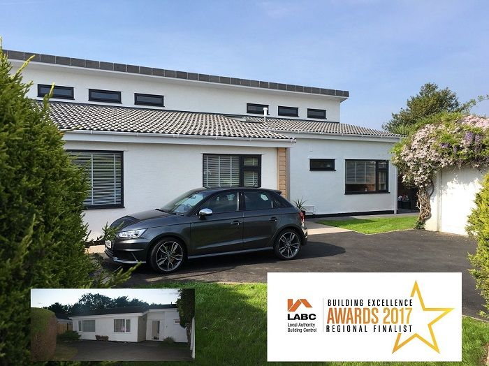 very Subtle extension to enlarge & modernise a bungalow - Wood Hill Park, Portishead.
