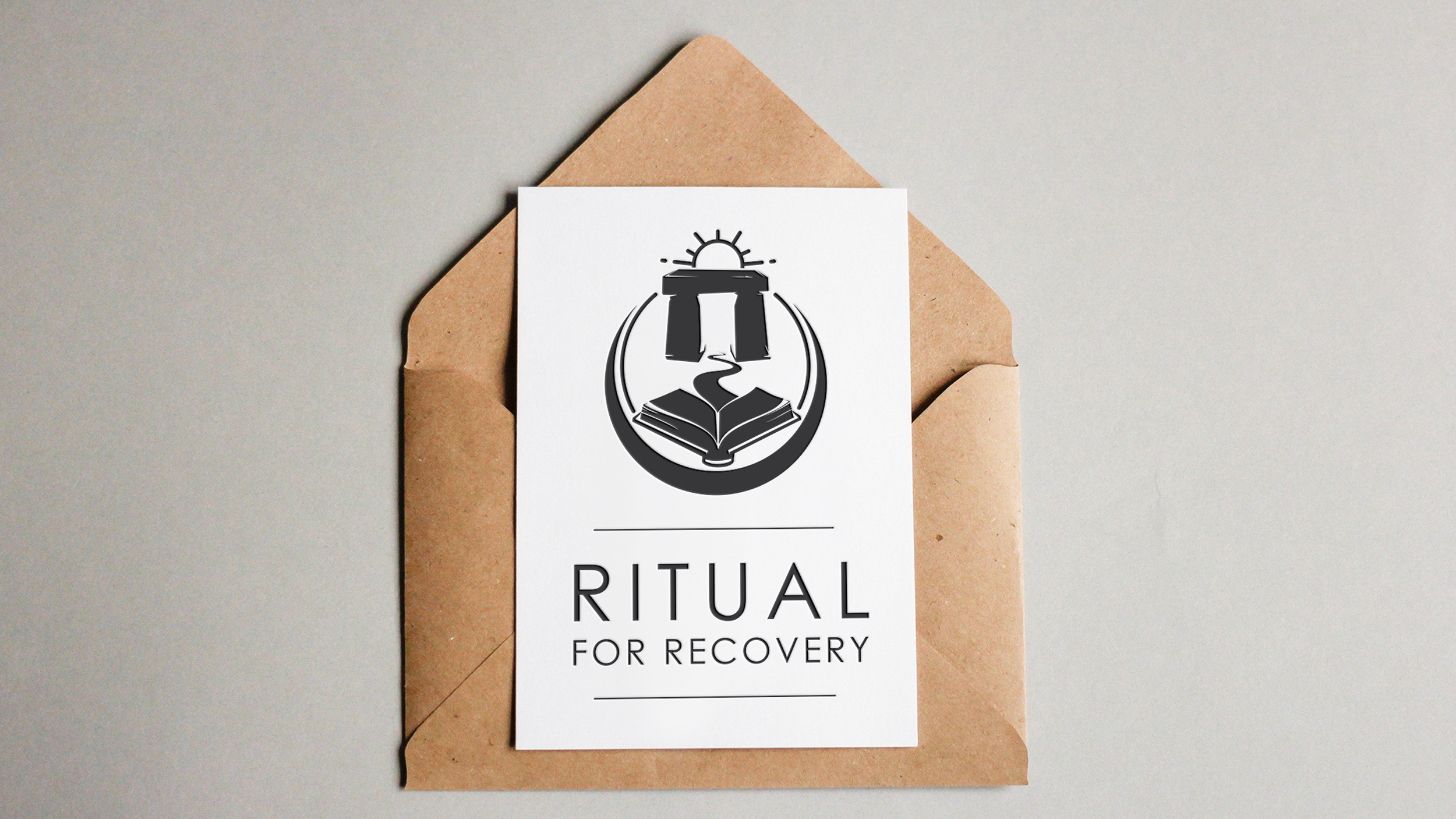 Ritual for Recovery Logo Design