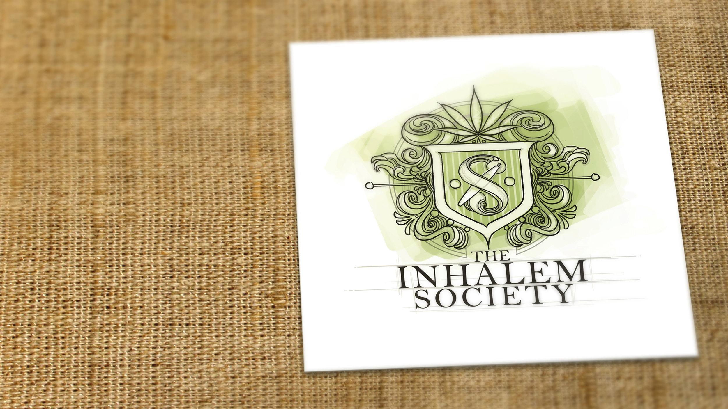 The Inhalem Society Logo Design