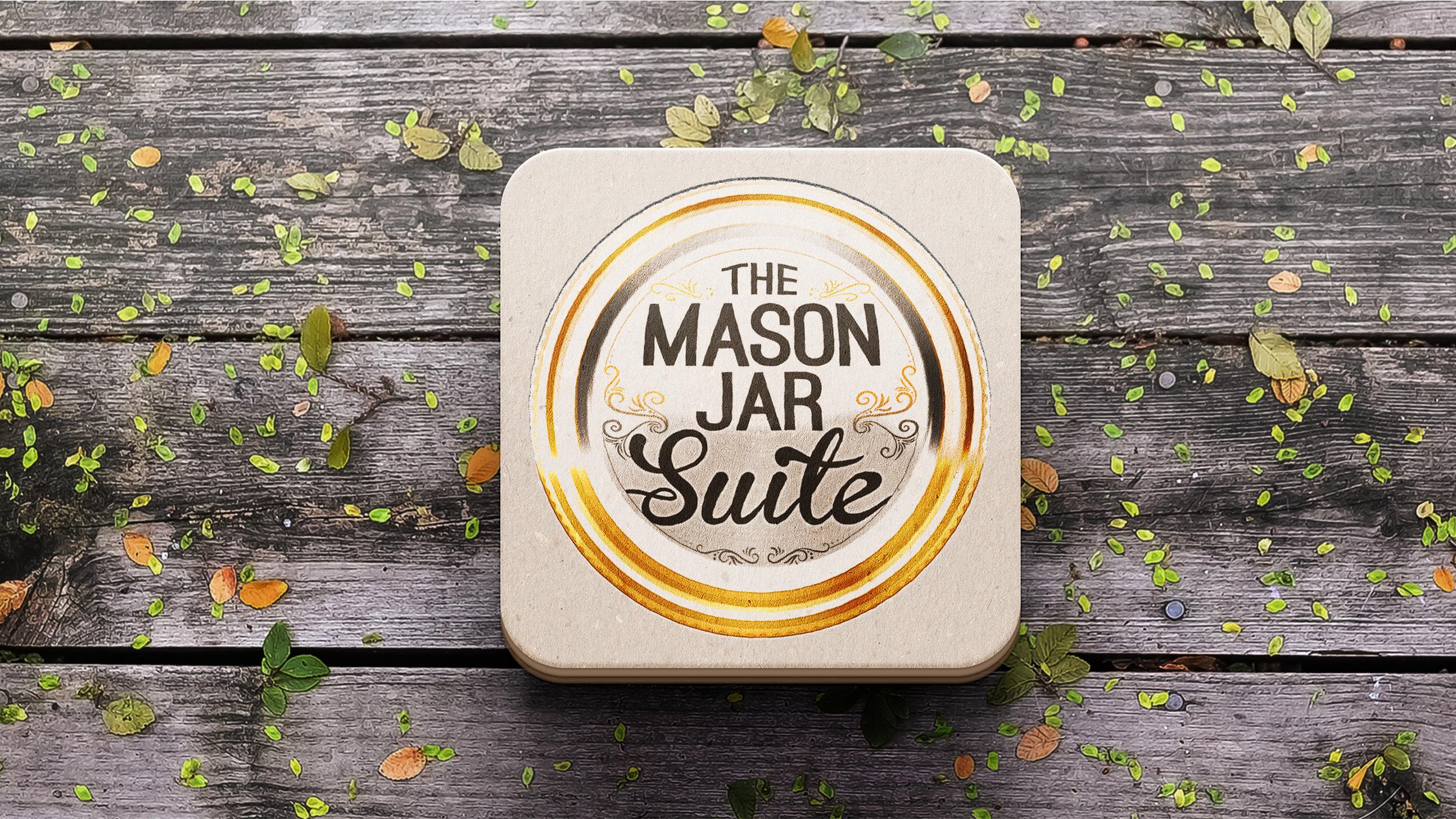 The Mason Jar Suite Logo Design