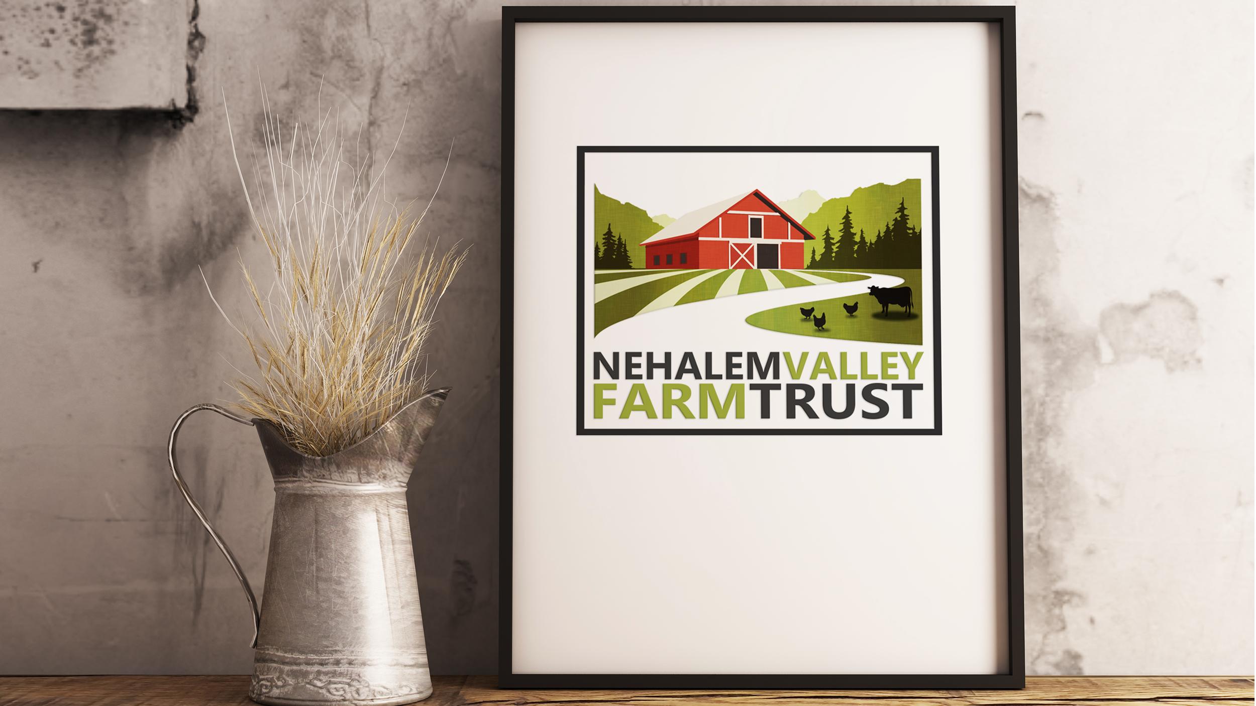 Nehalem Valley Farm Trust Logo Design