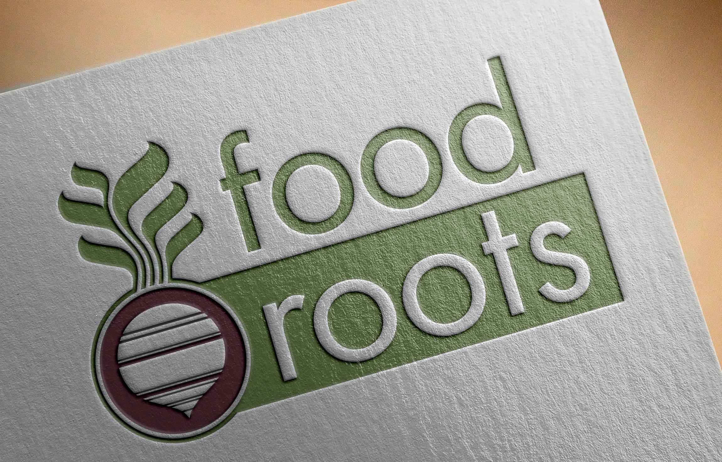 Food Roots Logo Design