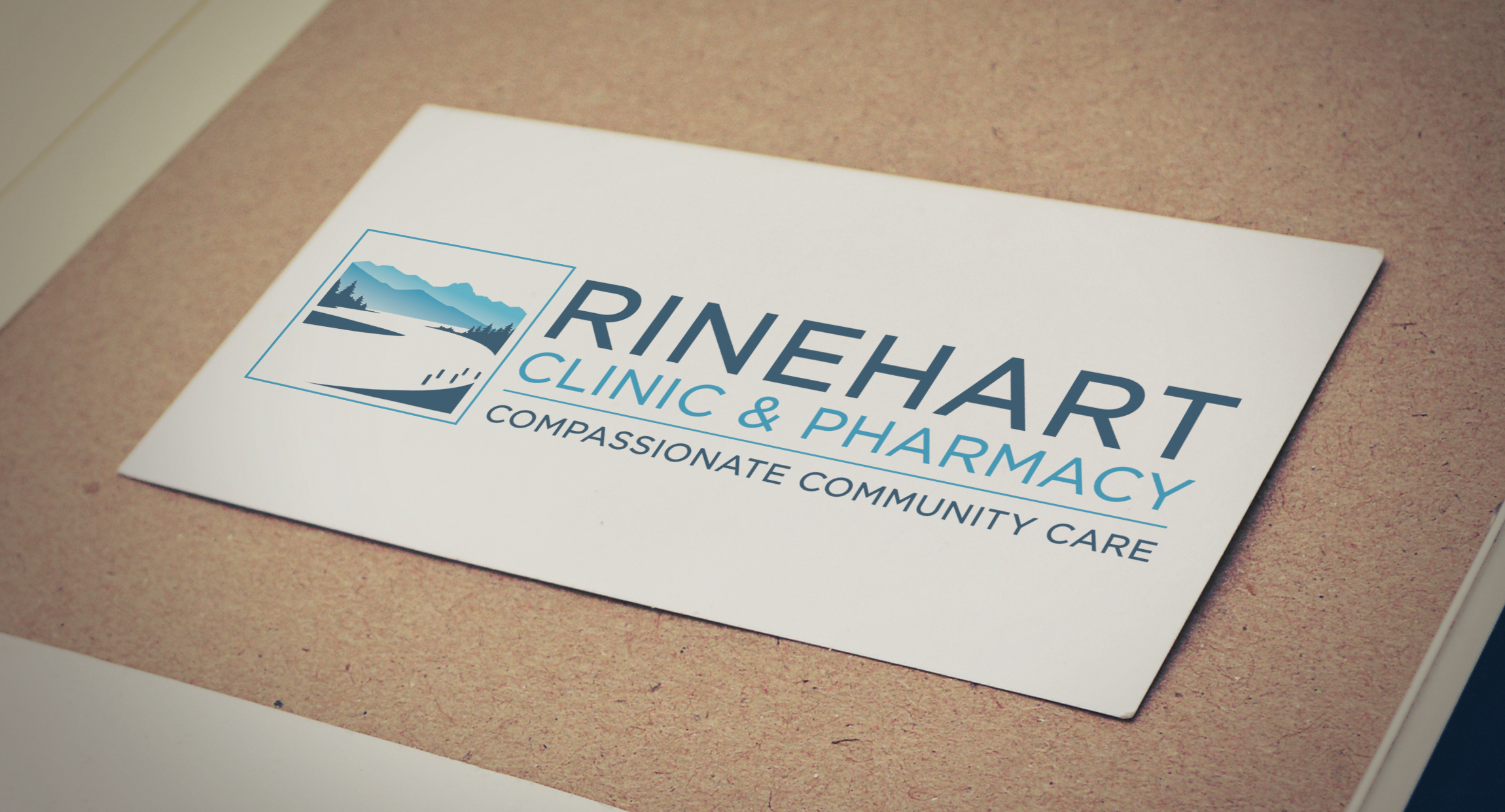 Rinehart Clinic & Pharmacy Logo Design