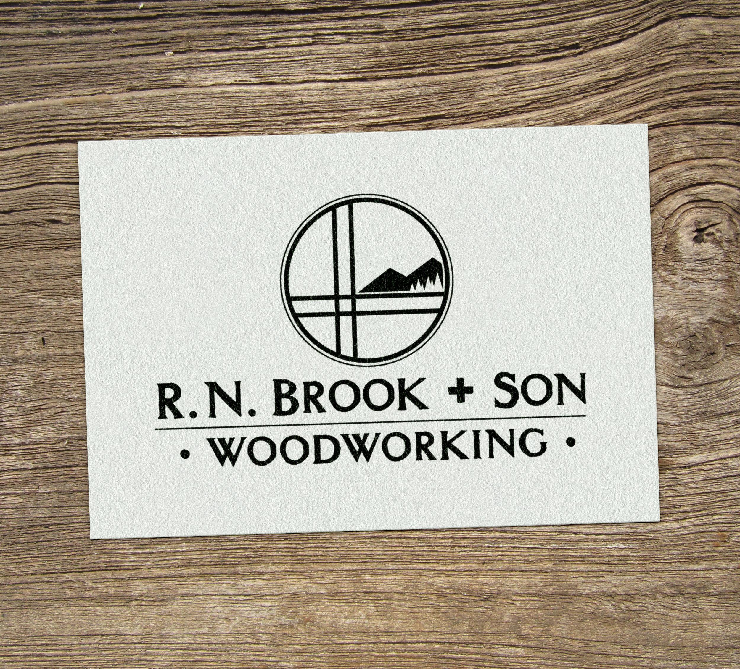 R.N. Brook & Son Logo Design