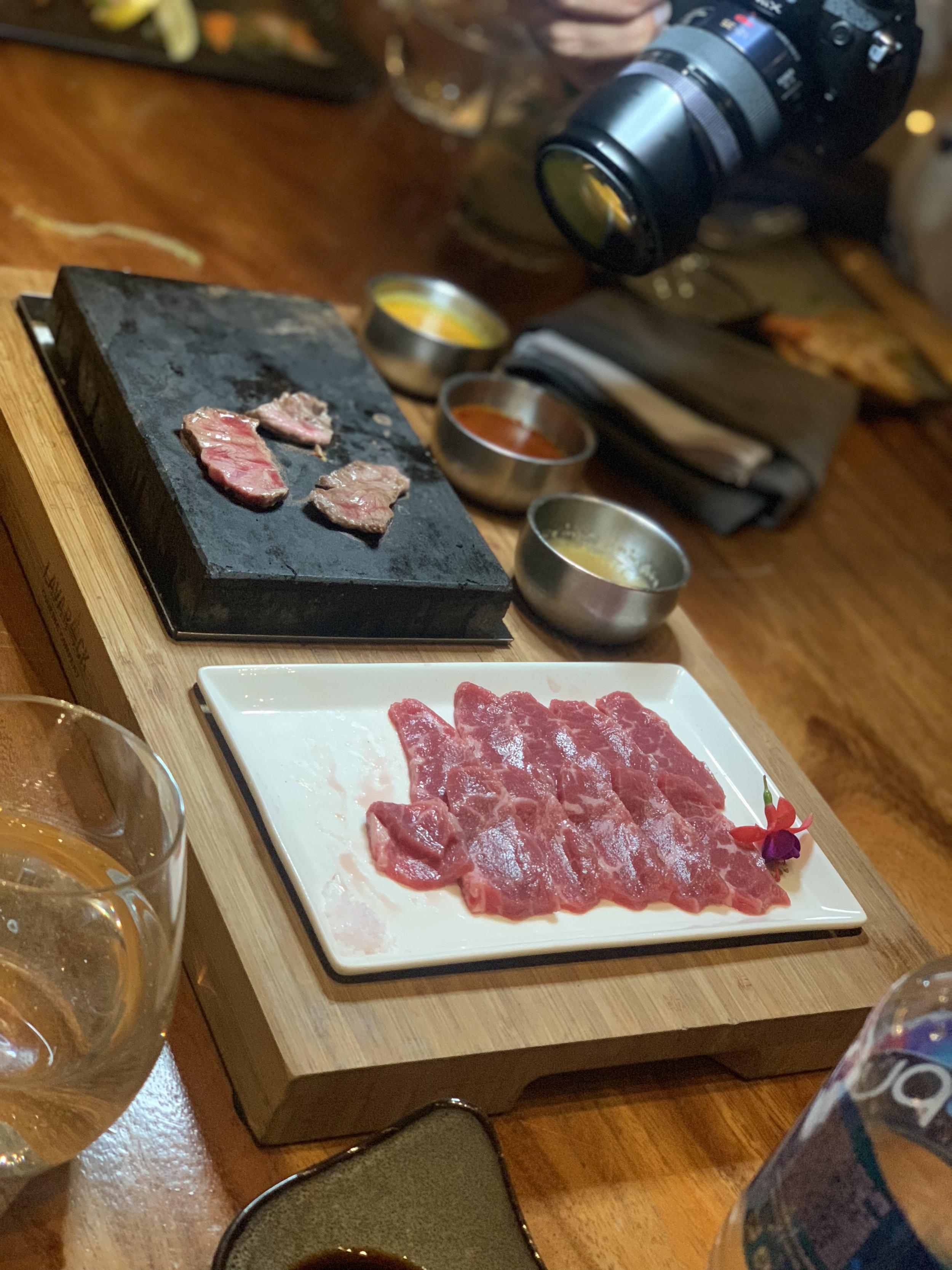 Lava Rock Steak