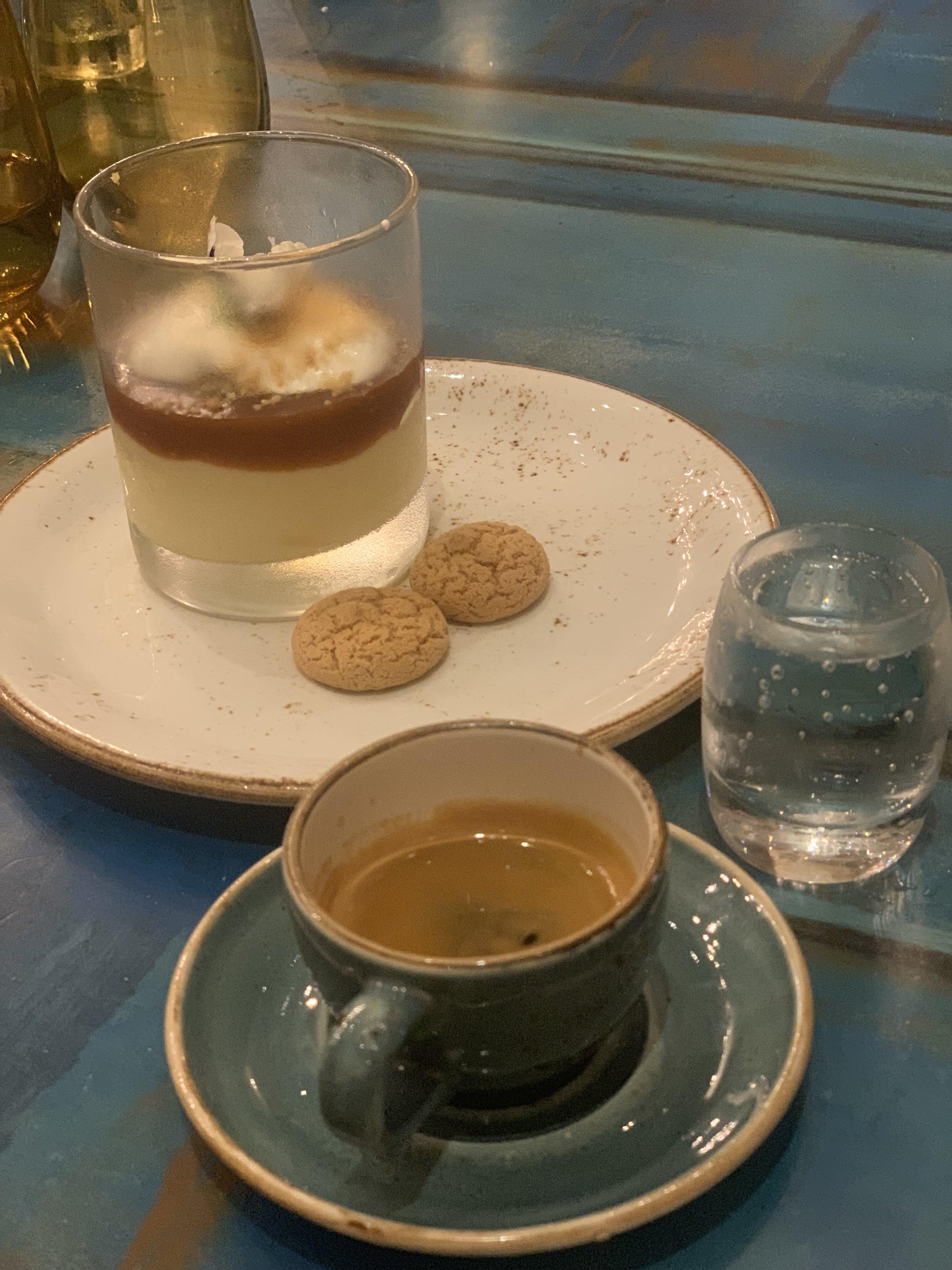 Espresso w/ Sparkling Palate Cleanser