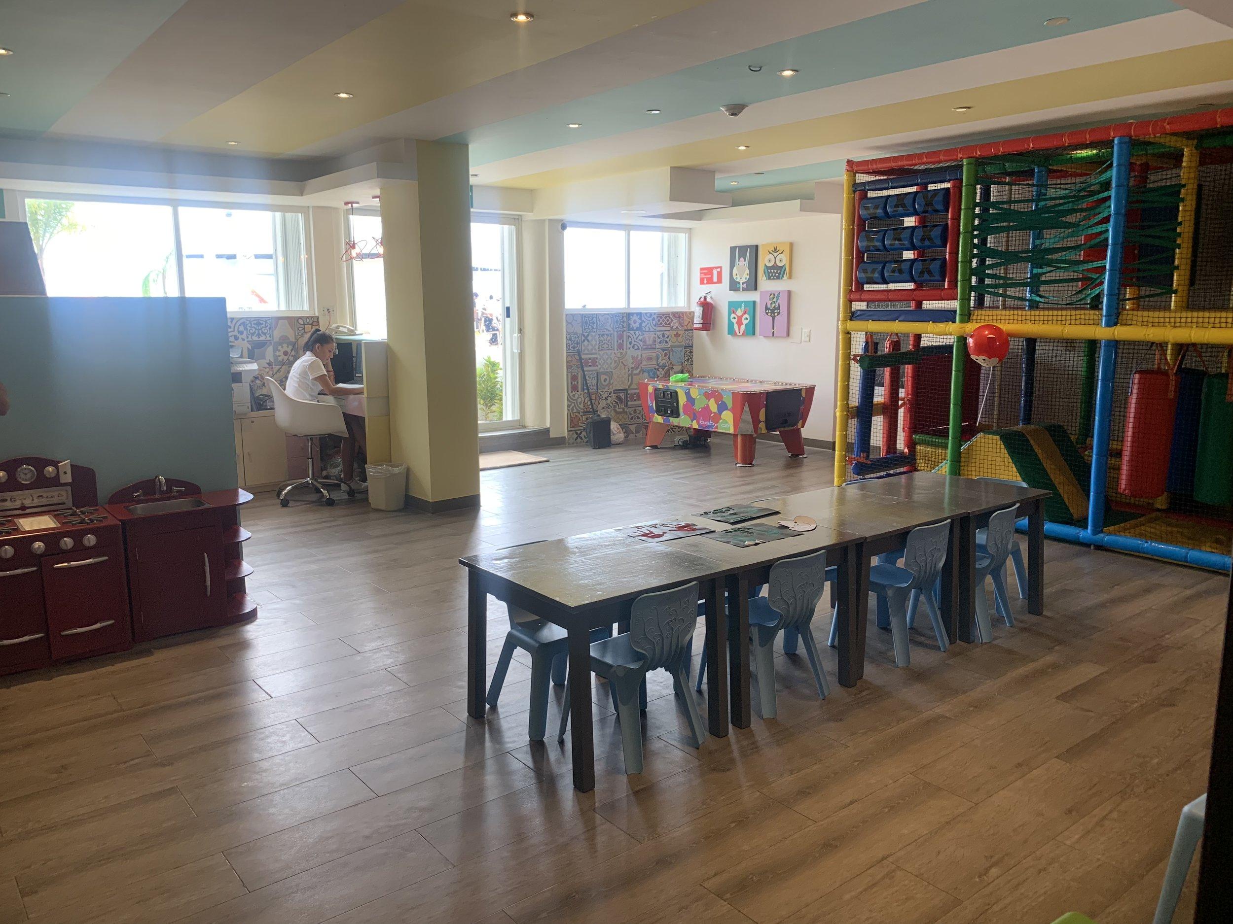 The Playroom at Palace Resorts