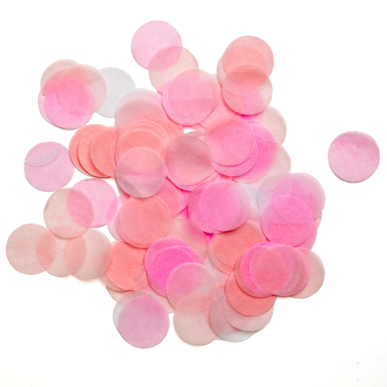 Rosa konfetti