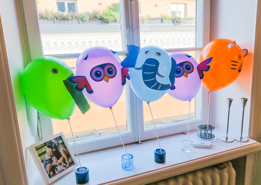 DIY Ballongdjur
