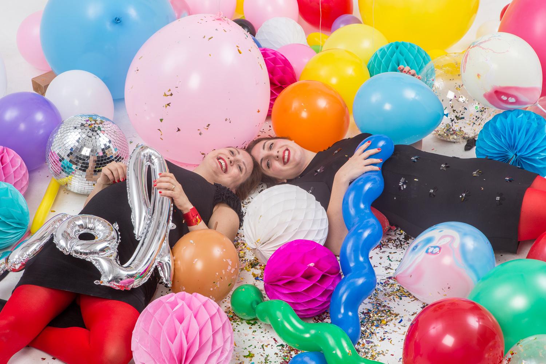 Konfettiballonger, jätteballonger, figurballonger, ballonger och folieballonger