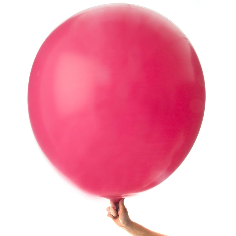 Jätteballong Mörkrosa