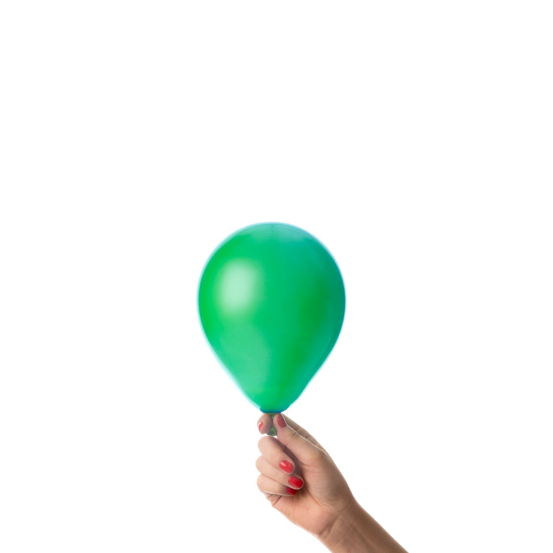 Mörkgröna miniballonger