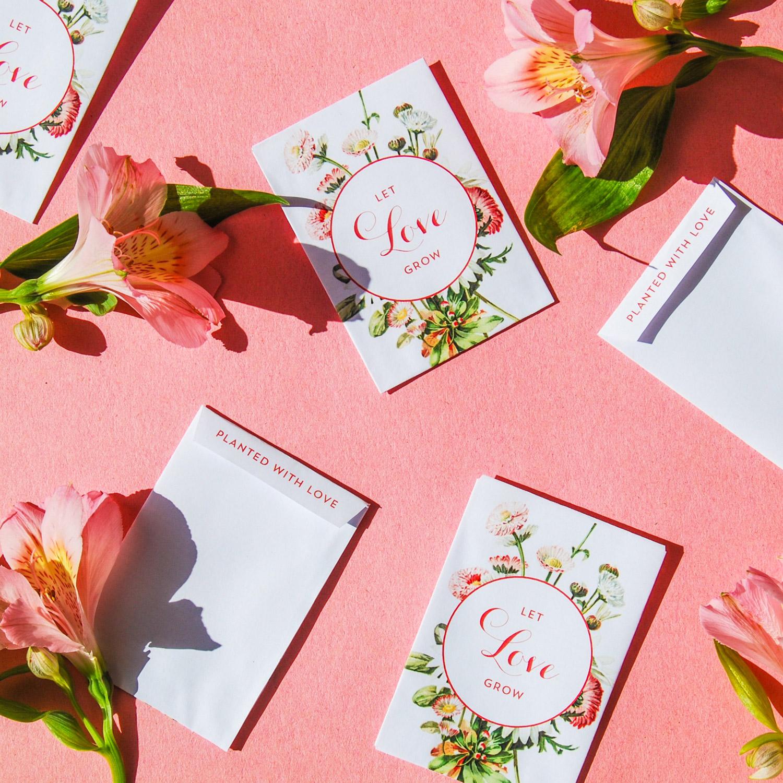 Bröllopsfavour blomfrön