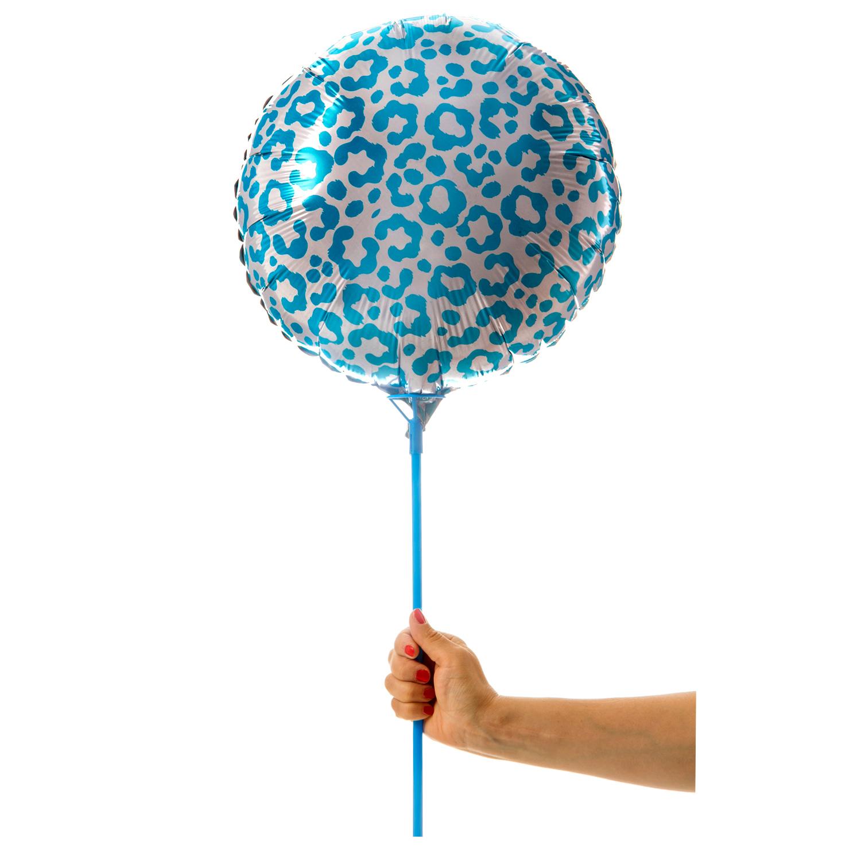 Blå leopardballong