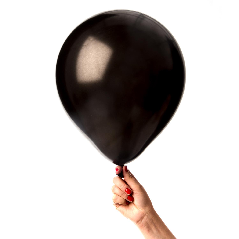 Svarta ballonger