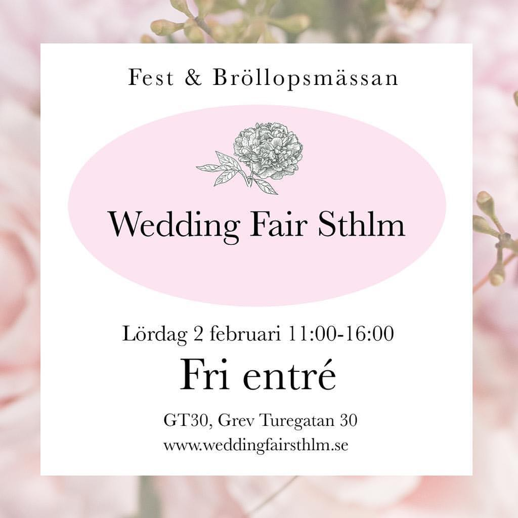 Wedding Fair Stockholm 2019