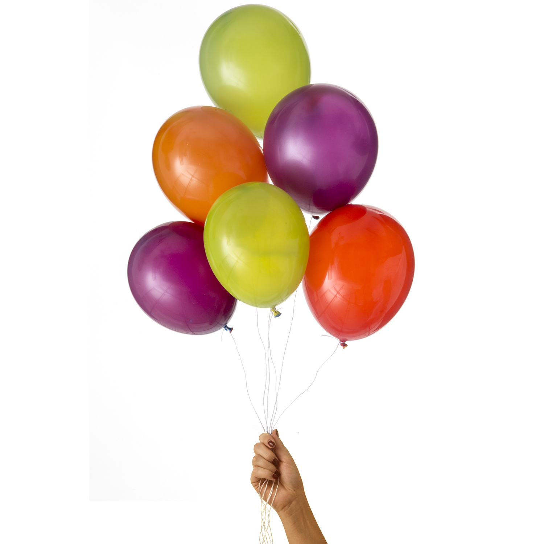 ekologiska och magiska ballonger av naturgummi som ändrar färg när man blåser upp dem av märket Marusa Balloons i storlek M