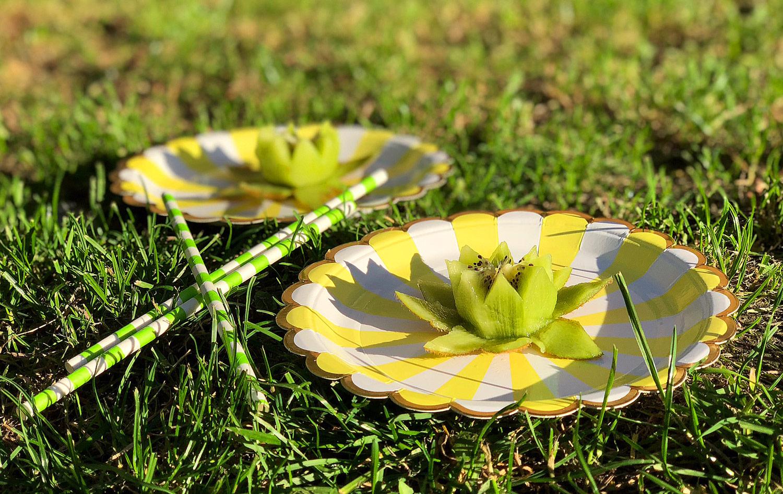 Kiwi Lotus blomma