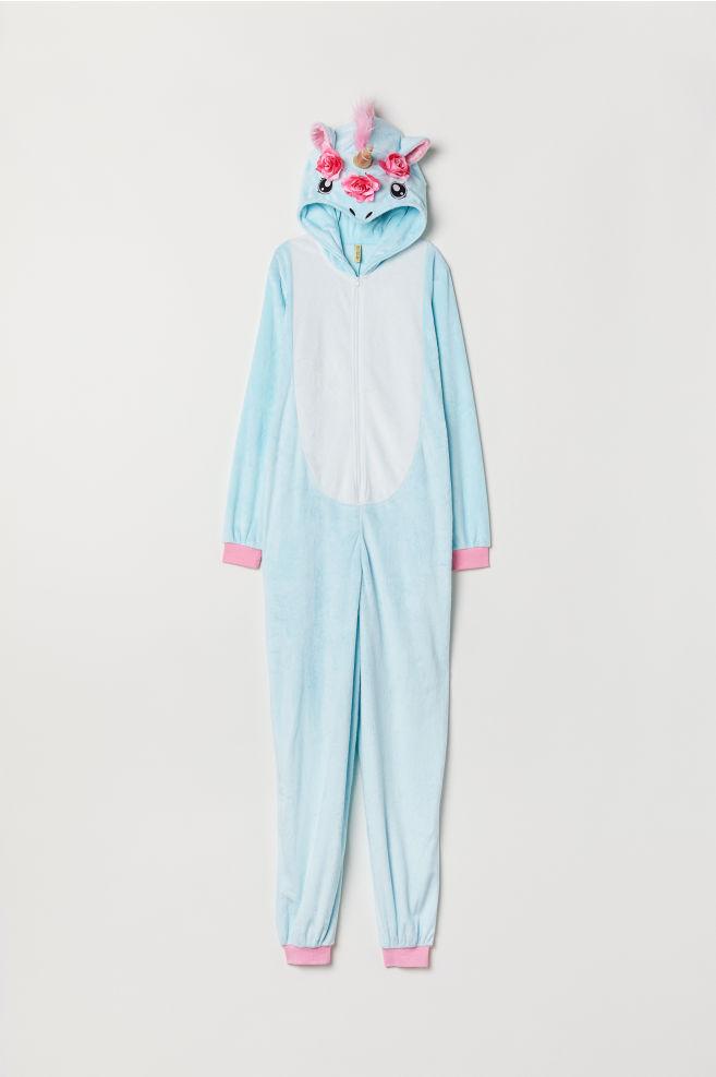 maskeraddräkt unicorn, enhörning H&M