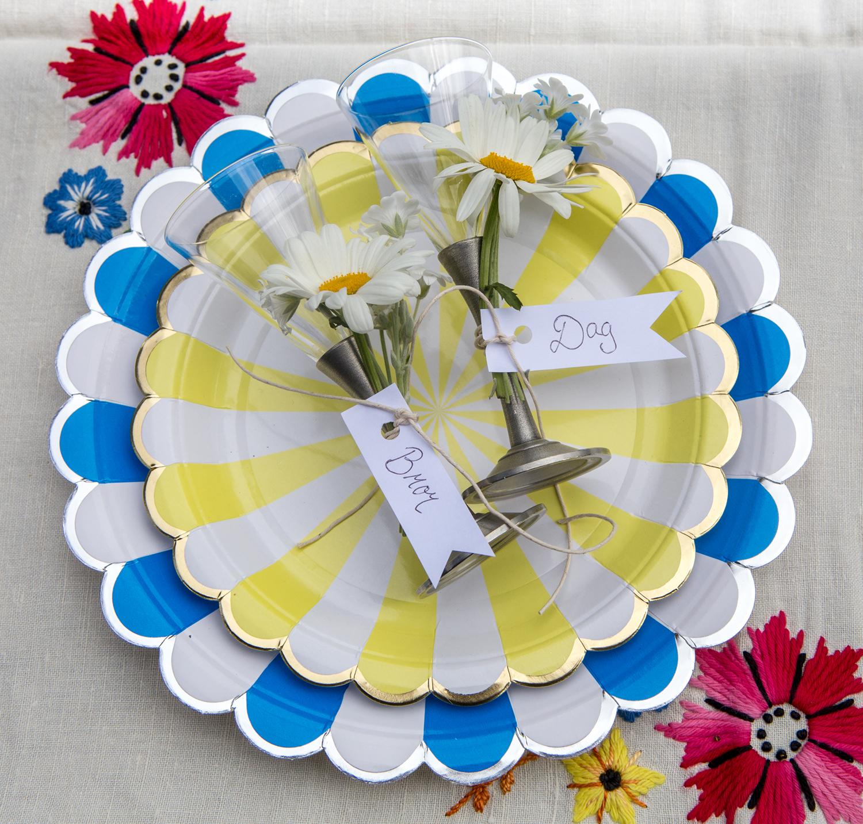 bordsplacering snapsglas med namn