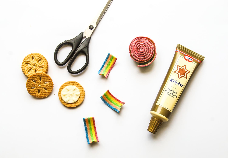 kak- och godis medaljer till morsdag