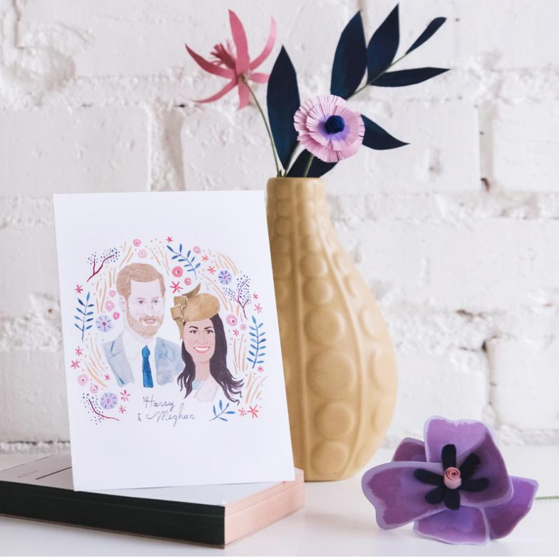 the House that Lars built Wedding Collection prins Harry and Meghan Markle