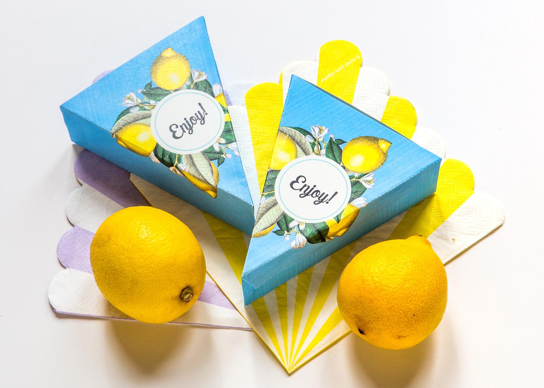 förpackningar till citronpaj