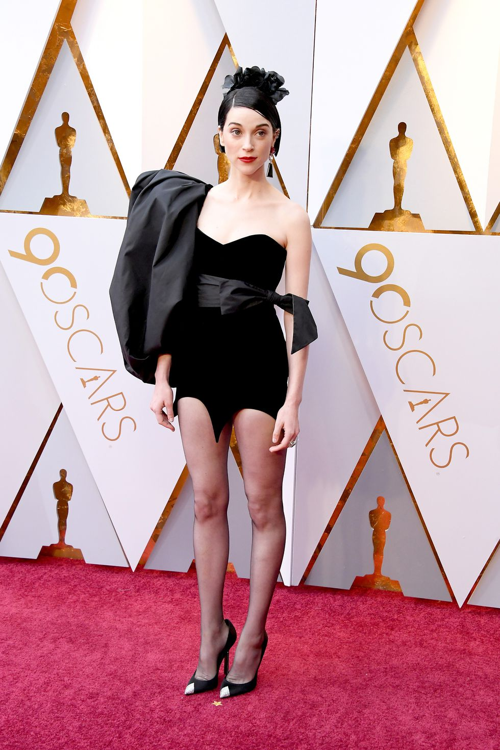 Oscars dress St Vincent