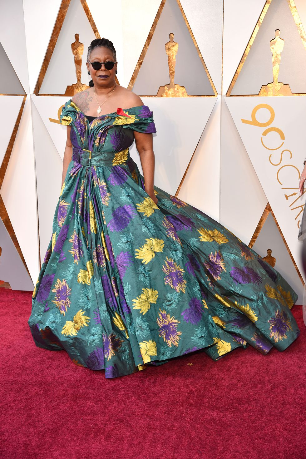 Oscars dress Whoopi Goldberg