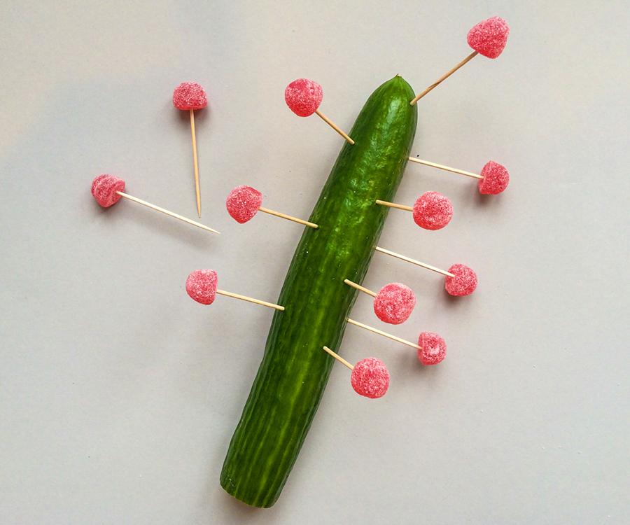 DIY till Geléhallonens dag geléhallons kaktus