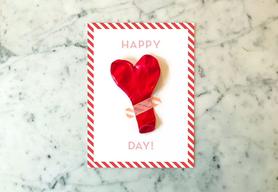 DIY alla hjärtans dag kort