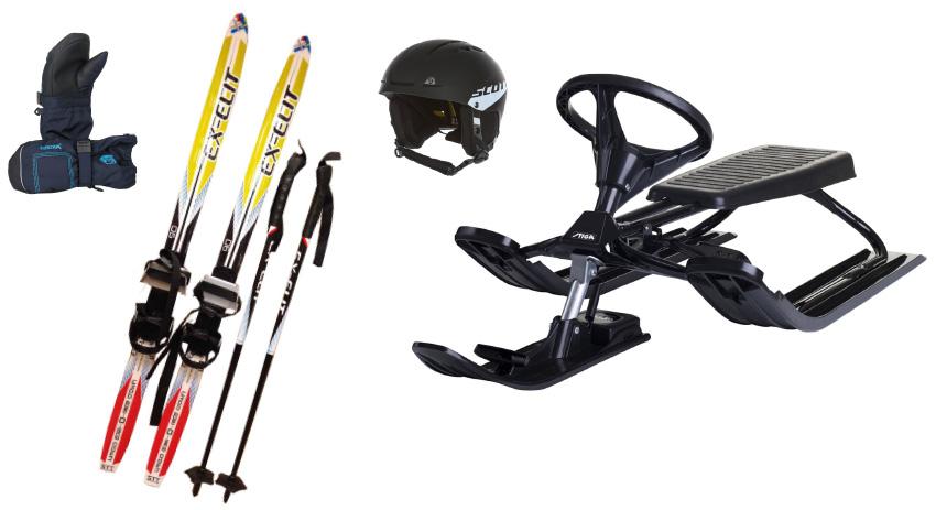 tips doppresent skidset och snowracer