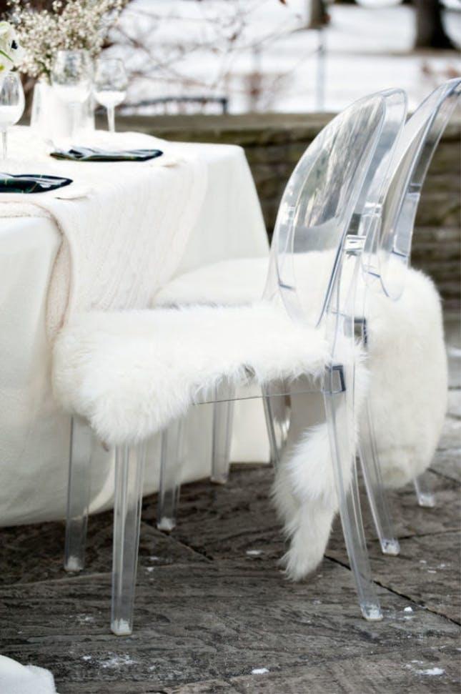5 bästa IKEA hacksen till vinterbröllopet nummer 1 fårskinn Ludde