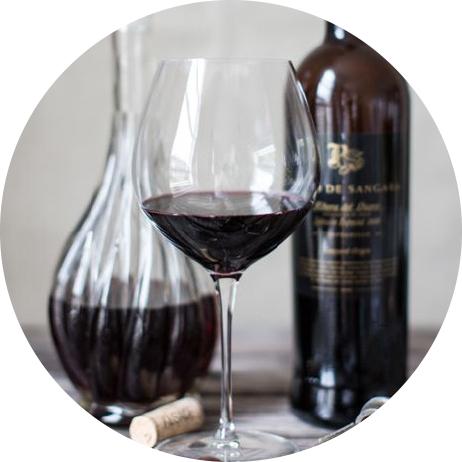 vin och mineralvatten
