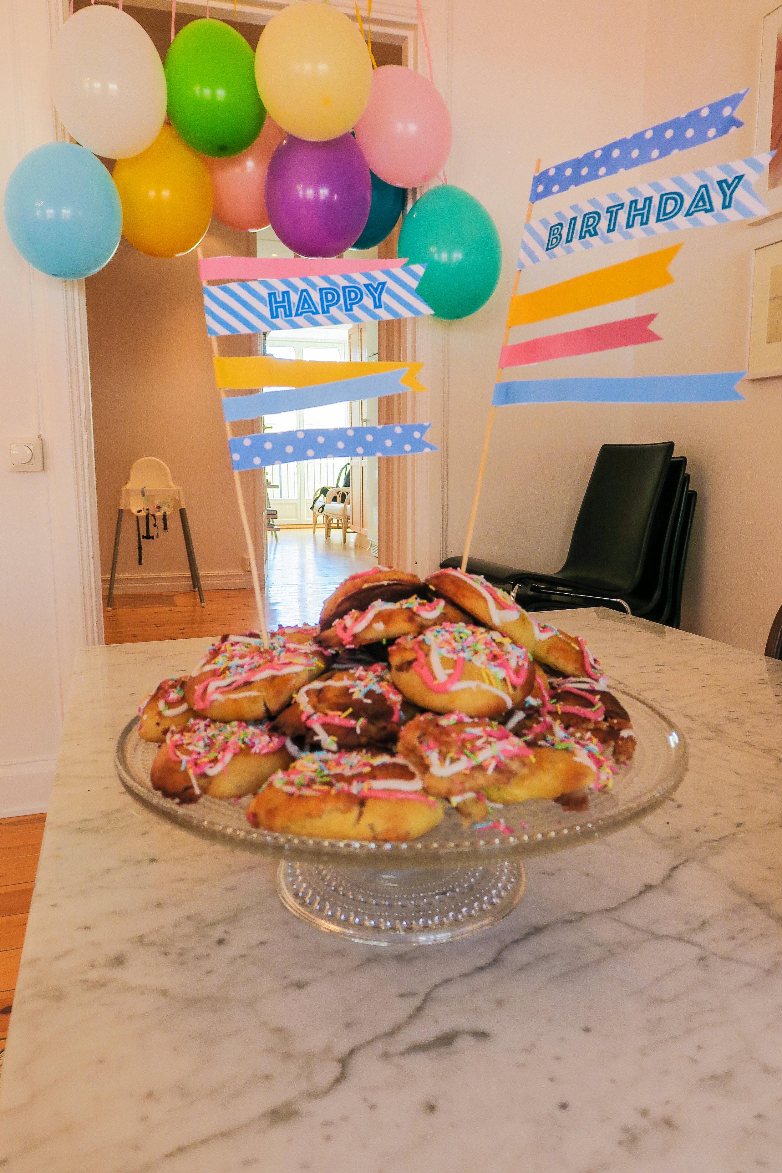 barnkalas happy birthday kakdekoration
