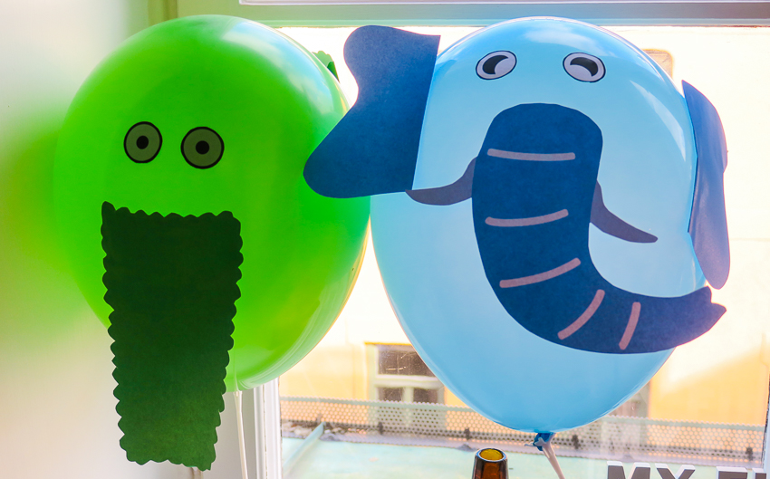 DIY djur ballonger