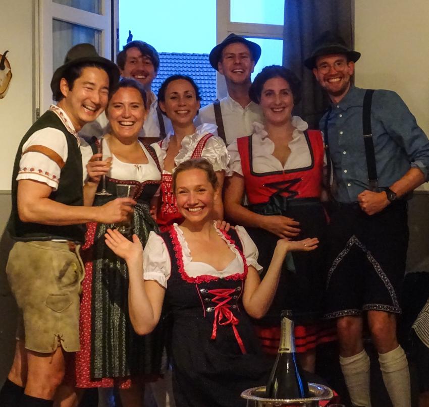 oktoberfest i Engelberg Schweiz