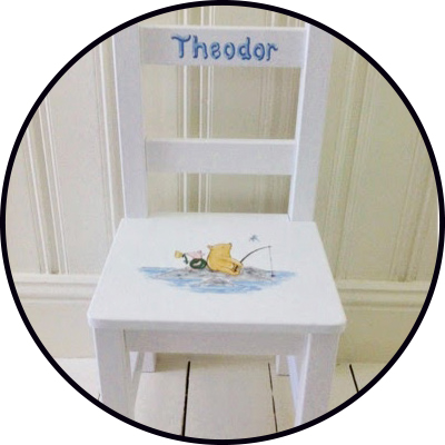 tips på doppresenter handmålade möbler