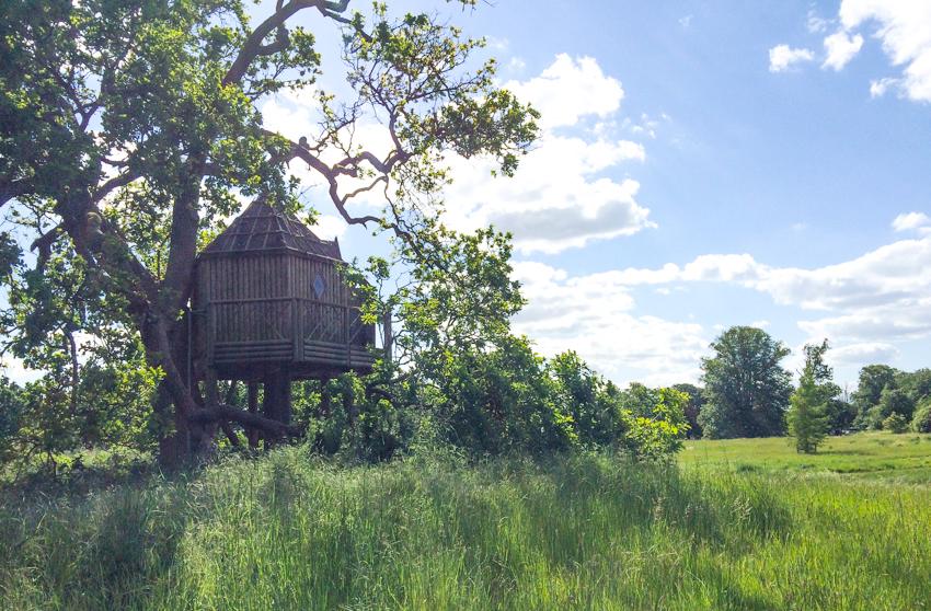 trädkoja engelska landsbygden