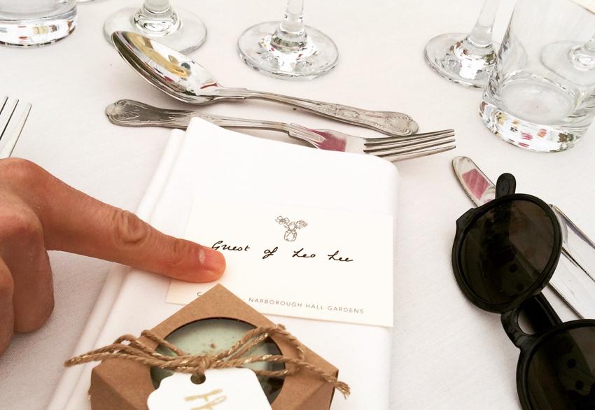 bordsplacering på engelskt bröllop