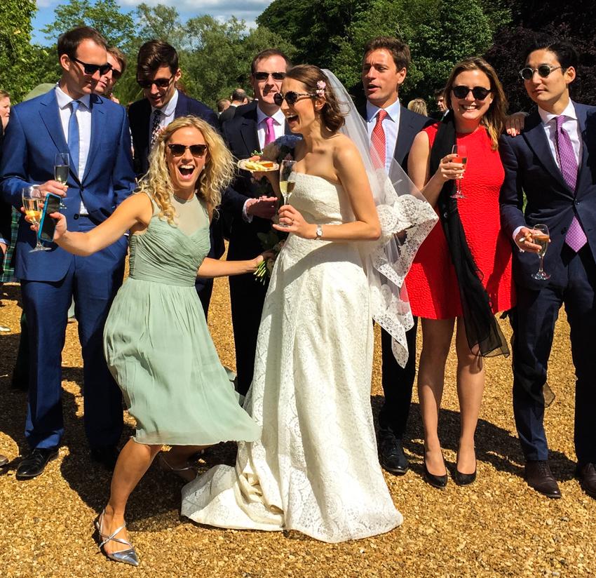 engelskt bröllop