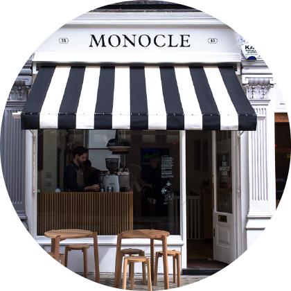 Monocle café London