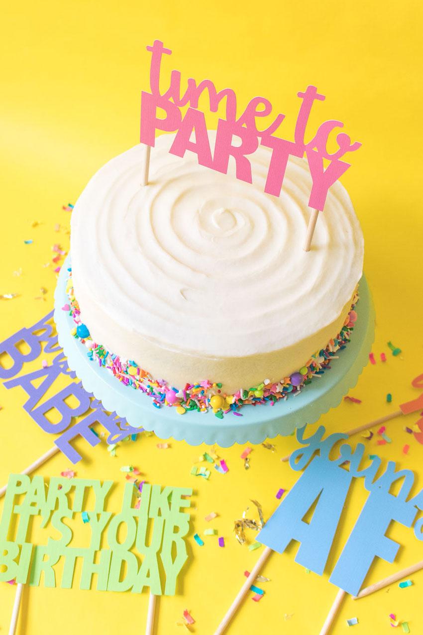 Det är alltid dags för party!