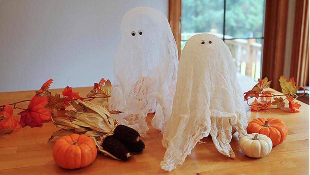 DIY fristående Halloween spöken