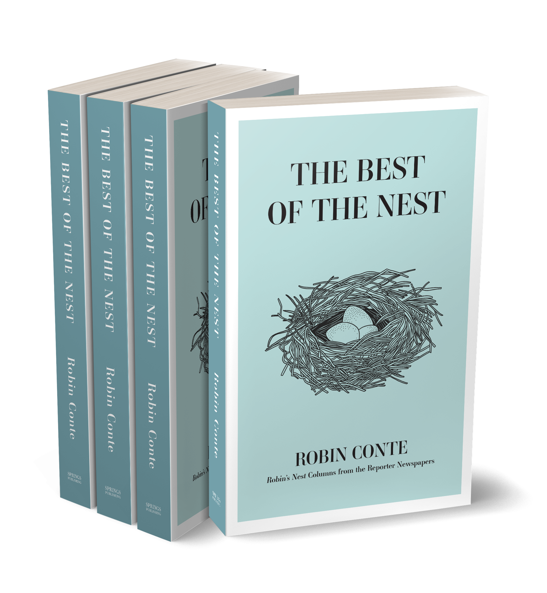 The Best of the Nest Books Stacked