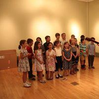Petoskey Montessori Children's House K-5 Music Class. Class split K-2, 3-5 each class wrote multiple songs.
